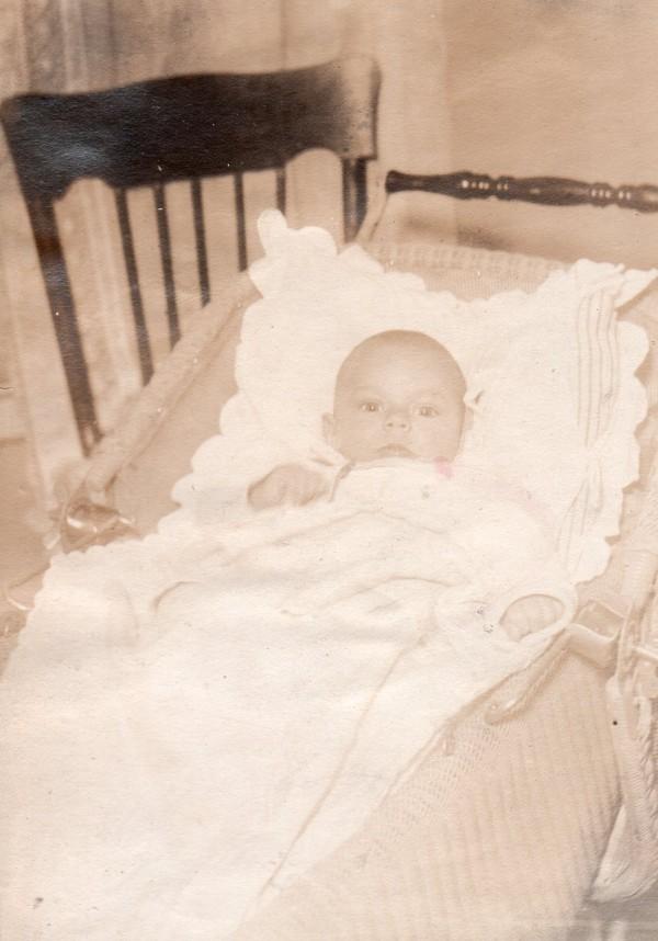 Joseph as a baby